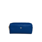 beauty case-leather-blue