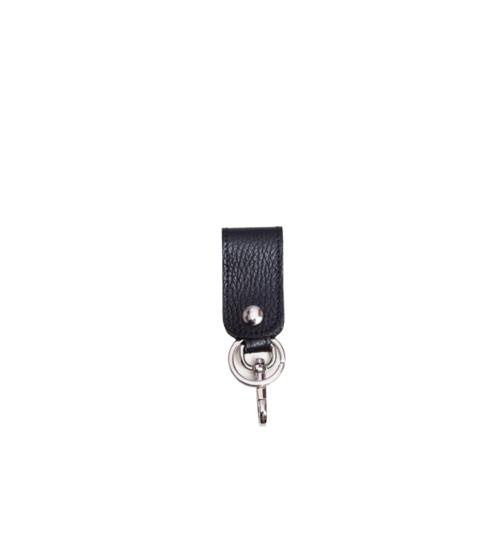 key chain-unisex-leather-black